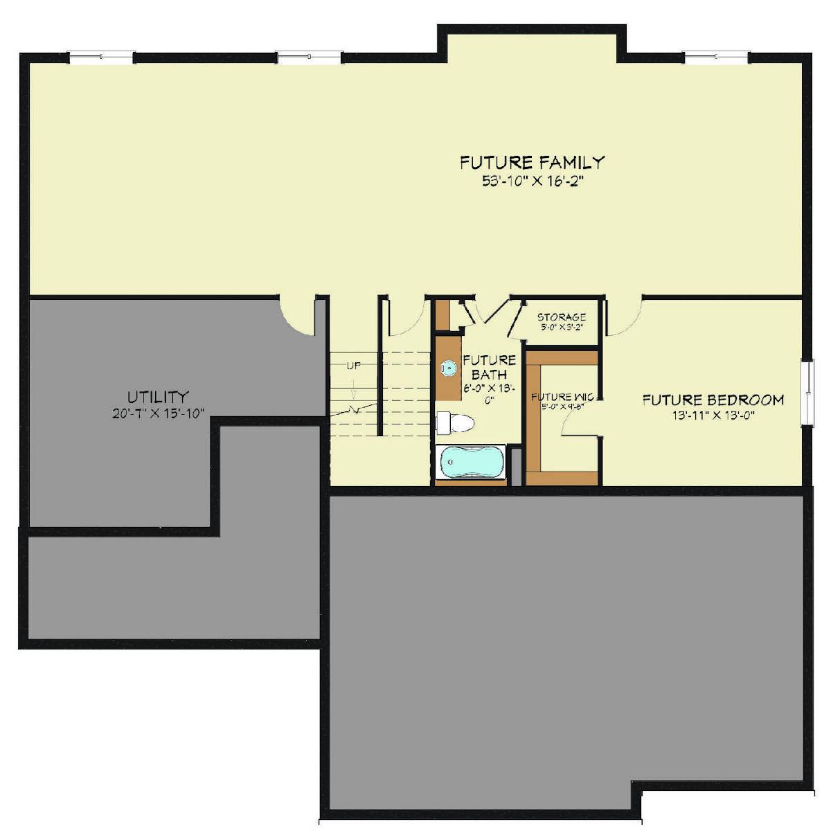 Afton R Floor Lower Level