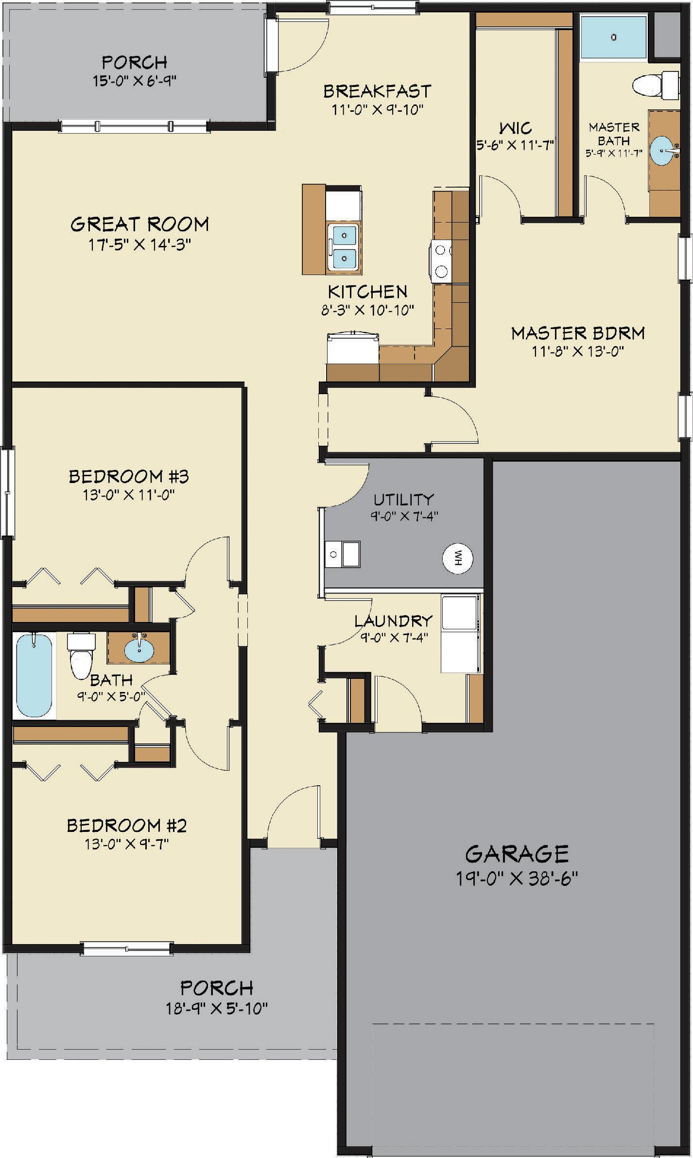 Rockwell Floor Plan